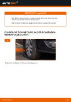 Wie Sie den Unterarm der vorderen Einzelradaufhängung am VW Touran 1T1 1T2 ersetzen