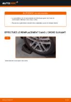 Montage Bras transversal VW TOURAN (1T1, 1T2) - tutoriel pas à pas