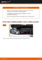 Comment remplacer les plaquettes de frein à disque arrière sur une VOLKSWAGEN GOLF VI (5K1)