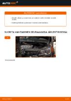 Kuinka vaihtaa etu-jarrusatula VOLKSWAGEN TOURAN I (1T3) malliin.