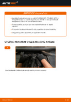 Instalace Kotouče VW TOURAN (1T3) - příručky krok za krokem