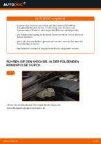 Wie Bremsscheibe VOLVO V50 tauschen und einstellen: PDF-Tutorial