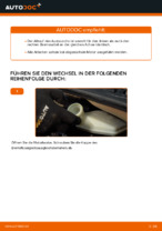 DIY-Leitfaden zum Wechsel von Zahnriemen mit Wasserpumpe beim CITROËN C3 I (FC_)
