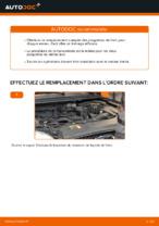 Instructions gratuites en ligne sur comment rénover Jeu de plaquettes de frein FORD FOCUS II Saloon (DA_)