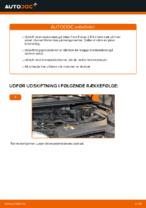 Trin-for-trin reparationsvejledning til Ford Focus dnw