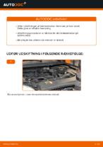 Hvordan skifter man og justere Bremseklods FORD FOCUS: pdf manual
