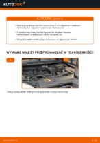 Poradnik krok po kroku w formacie PDF na temat tego, jak wymienić Klocki Hamulcowe w FORD FOCUS