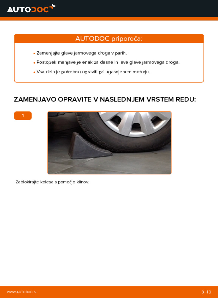 Kako izvesti menjavo: Konec jarmovega droga na 320d 2.0 BMW E46