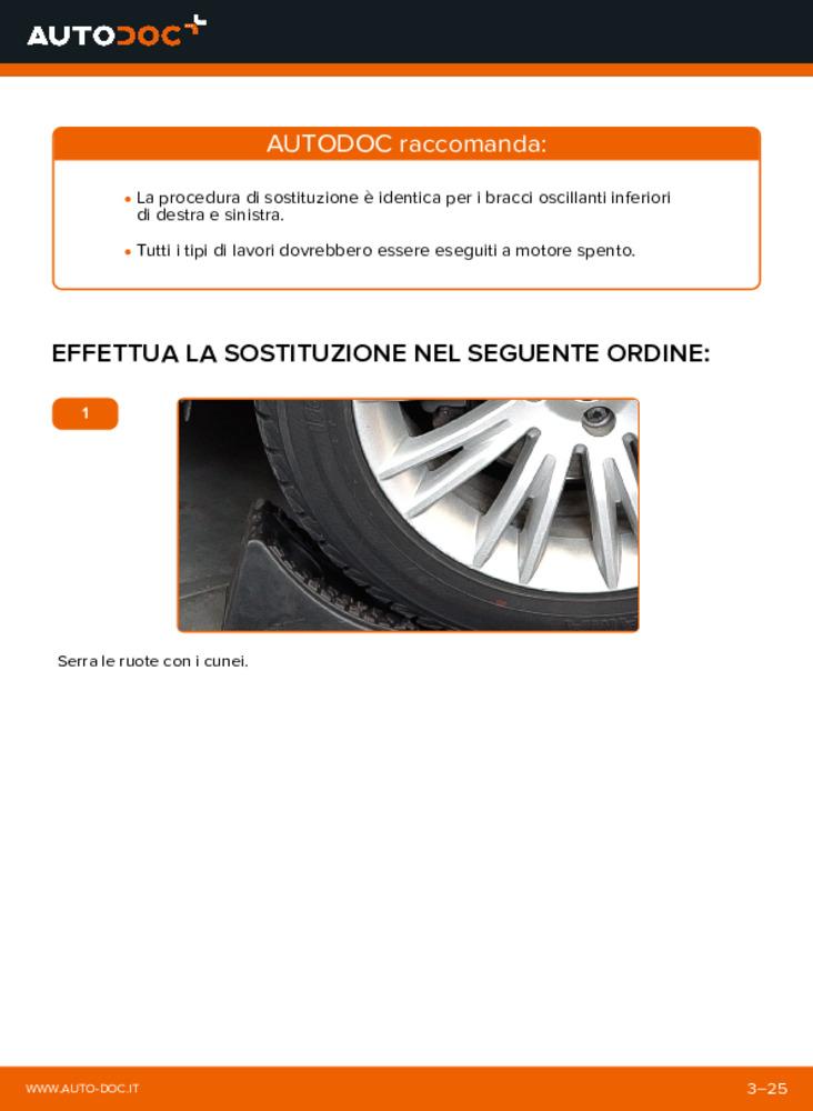 Come effettuare una sostituzione di Braccio Oscillante su 1.9 D Multijet FIAT BRAVO II (198)