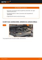 Millal vahetada Piduriklotsid FORD FOCUS II Saloon (DA_): käsiraamat pdf