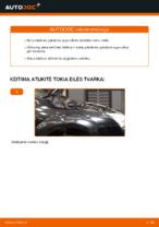 Kaip pakeisti priekinės pakabos spyruokles Ford Focus 2 DA