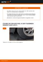Wie Sie den Unterarm der vorderen Einzelradaufhängung am Ford Focus 2 DA ersetzen