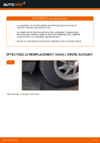 PDF manuel de remplacement: Triangle de suspension FORD arrière et avant