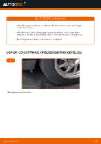 Hvordan man udskifter den nedre arm i for på en uafhængig affjedring på Ford Focus 2 DA