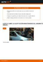 Cómo cambiar el aceite de motor y el filtro de aceite FIAT PUNTO II (188)