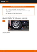 bak och fram Stabilisatorstag FORD FIESTA | PDF instruktioner för utbyte