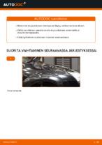 Kuinka vaihtaa etu-iskunvaimentimen jouset Ford Focus 2 DA malliin