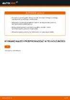 Jak wymienić mocowanie kolumny resorującej przedniej w Volkswagen Golf V (1K)