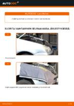 Kuinka vaihdat moottorin moniurahihnan VOLKSWAGEN POLO IV (9N_) -autoon