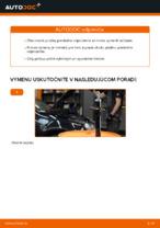 Ako vymeniť pružiny predného zavesenia kolies na VOLKSWAGEN GOLF V