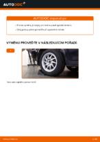 Jak vyměnit spodní přední ovládací rameno na zadním nezávislém zavěšení kol na Ford Focus 2 DA