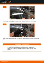 Como substituir as escovas do limpa para-brisa dianteiros em Toyota Prius 2
