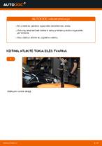 Montavimo Spyruoklės VW GOLF V (1K1) - žingsnis po žingsnio instrukcijos