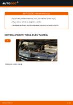 Alyvos filtras keitimas: pdf instrukcijos TOYOTA PRIUS