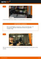 Montage Wischblattsatz TOYOTA PRIUS Hatchback (NHW20_) - Schritt für Schritt Anleitung