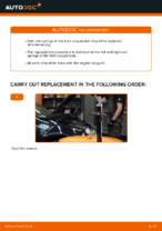 Step-by-step repair guide for VW GOLF