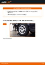 bak och fram Länkarm FORD FOCUS | PDF instruktioner för utbyte