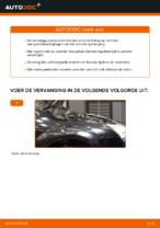 Hoe de voorste veerpootbevestiging van een Ford Focus 2 DA vervangen