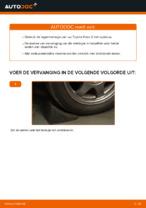 Hoe Wiellagerset veranderen en installeren TOYOTA PRIUS: pdf handleiding