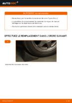 Remplacement Jeu de roulements de roue TOYOTA PRIUS : pdf gratuit