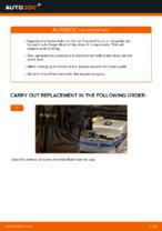 How to replace and adjust Brake rotors TOYOTA PRIUS: pdf tutorial