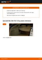 Hur man byter ut bakre stötdämpatre på Toyota Prius 2
