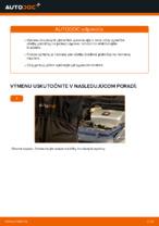 Online návod, ako svojpomocne vymeniť Ložisko tlmiča na aute TOYOTA PRIUS Hatchback (NHW20_)