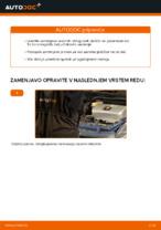 Zamenjavo Zavorne Ploščice TOYOTA PRIUS: brezplačen pdf
