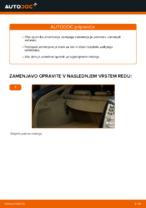 Zamenjavo Blazilnik TOYOTA PRIUS: navodila za uporabo