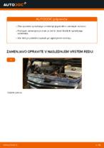 Menjava zadaj in spredaj Blažilnik TOYOTA naredi sam - navodila pdf na spletu