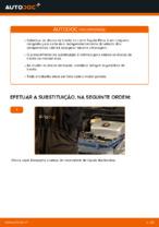 Instalação Discos de travagem TOYOTA PRIUS Hatchback (NHW20_) - tutorial passo-a-passo