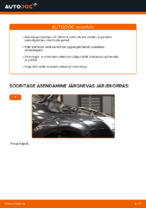 FORD FOCUS II (DA_) samm-sammuline remondijuhend