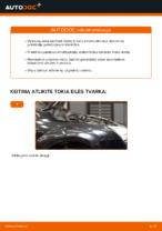 Kaip pakeisti priekinės pakabos statramstį Ford Focus 2 DA