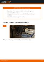 automobilių dalys TOYOTA PRIUS hečbekas (NHW20_) | PDF Instrukcija remonto