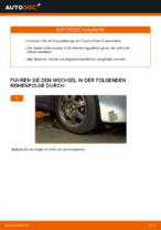 Wie ersetze ich eine vordere Koppelstange am Toyota Prius 2