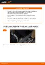 Ako vymeniť a regulovať Brzdový kotouč VW TOURAN: sprievodca pdf