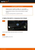 Jak vyměnit brzdové destičky zadních brzdových čelistí na FIAT PUNTO 188