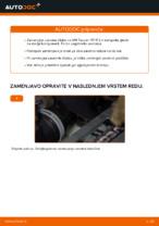 Avtomehanična priporočil za zamenjavo VW Touran 1t1 1t2 2.0 TDI 16V Zavorne Ploščice