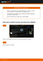 Mudar Sapatas de freio: instrução pdf para FIAT PUNTO