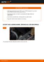 Millal vahetada Piduriketas VW TOURAN (1T1, 1T2): käsiraamat pdf